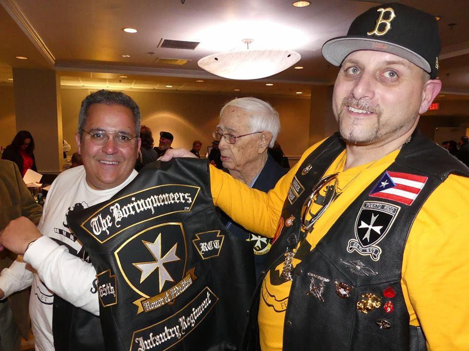BCGM CEO Sam Rodriguez The Borinqueneers 65th Infantry Regiment MC Hector Repoman